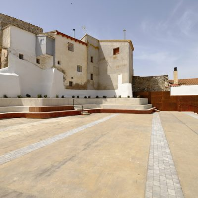 Ampliación Plaza en Centro Histórico