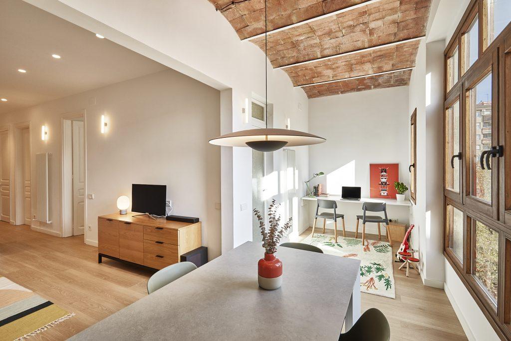 Diseño interior piso Les Corts